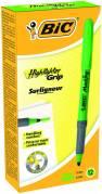 BIC Grip tekstmarker brite liner grøn