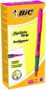 BIC Grip tekstmarker brite liner pink