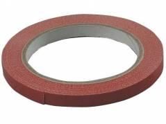 Tape til poselukker PVC-s 9mmx66m rød