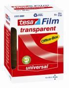 Tesa kontortape 15mmx66m (stor kerne) transparent