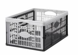Foldekasse Smart Store 23,5x35,5x49cm grå