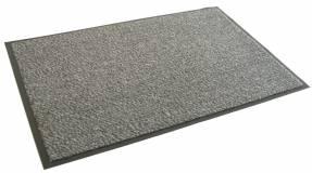 Smudsmåtter med vinylbagside 90x130cm lysgrå
