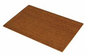 Kokos dørmåtte firkantet 15mm 50x80cm