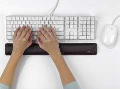 Durable håndledsstøtte gel til tastatur grå