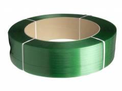 Strapbånd PET 15,5x0,90mm ø406mm 1500m 534kg træk grøn