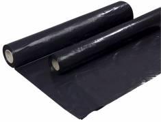 Afdækningsplastik 2x50 meter 0,15mm PE sort