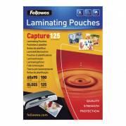 Fellowes lamineringslommer 65x95mm 125mic blank