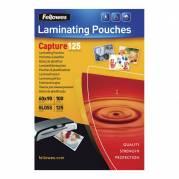 Fellowes lamineringslommer 60x90mm 125mic blank