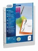 Elba Polyvision indstiksringbind A4 (ring 20mm - ryg 30mm) transparent