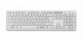 Jobmate tastatur slim hvid
