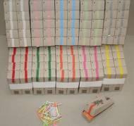 Kinesisk lotteri 200 numre hvid