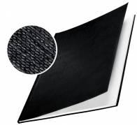 Leitz impressBIND omslag med lærredspræg 10,5mm sort