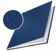 Leitz impressBIND omslag med lærredspræg 3,5mm blå