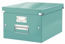 Leitz WOW arkivboks Click & Store A4 isblå