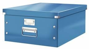 Leitz WOW arkivboks Click & Store A3 blå