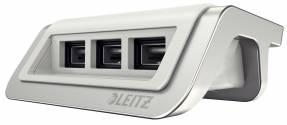 Leitz Style USB strømoplader arktisk hvid
