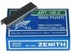 Zenith 130-Z hæfteklammer forzinket stål, 1000 stk