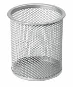 Office penneholder tråd Ø9x10cm metal sølv