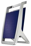 Leitz Style penneholder med sølv ramme blå