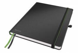 Leitz Complete notesbog A4 linieret sort