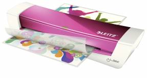 Leitz iLAM Home Office lamineringsmaskine A4 pink