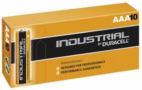 Duracell Industrial AAA batterier, pakke a 10 stk
