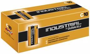 Duracell Industrial C batterier, pakke a 10 stk