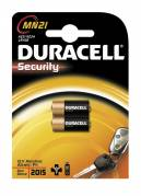 Duracell Security MN21 batterier, 2 stk pakning
