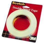 Scotch dobbeltklæbende tape 12,7mmx32,9m klar