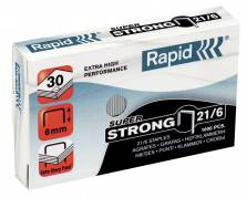 Rapid hæfteklammer 21/6 G Super Strong, 1000 stk