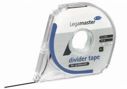 Legamaster inddelingstape 2,5mmx16m sort