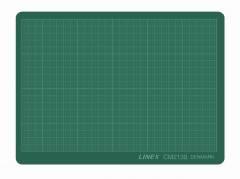 Linex skæreplade grøn 3mm plast 210x300mm