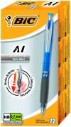 BIC AI Shaker pencil 3-i-1 0,7mm grå