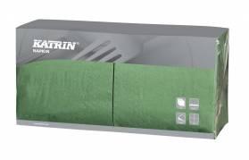 Katrin servietter 3-lags 33x33 cm grøn