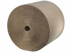 Boblefolie med kraftpapir 100 cm x 75 meter
