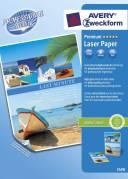 Avery fotopapir Premium A4 250 g Glossy til farvelaser, 100 ark