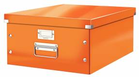 Leitz WOW arkivboks Click & Store A3 orange