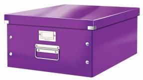 Leitz WOW arkivboks Click & Store A3 lilla