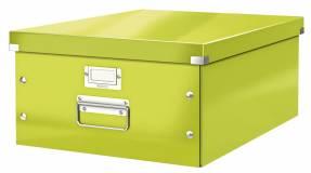 Leitz WOW arkivboks Click & Store A3 grøn