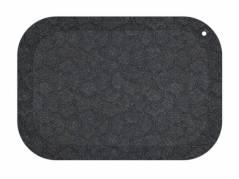 StandUp aflastningsmåtte 77x53cm sort