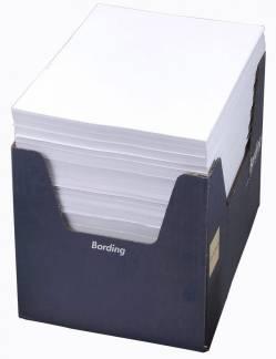 Fakturapapir med girokort 24101 hvid A4, 2000 stk