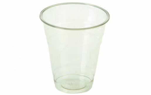 Miljø plastikglas PLA 20cl Ø76mm klar