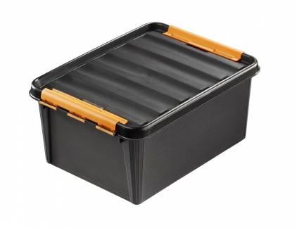 Plastikkasse Smart Store 15 liter robust sort