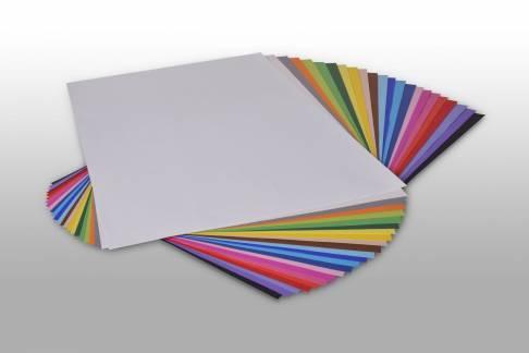 Karton Play Cut A4 180g assorteret farver, 250 ark