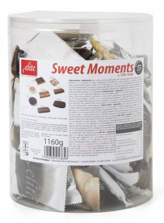 Chokolade Sweet Moments enkelindpakket, 120 stk