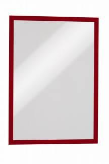 Durable A3 Duraframe magnetisk skilt med rød ramme