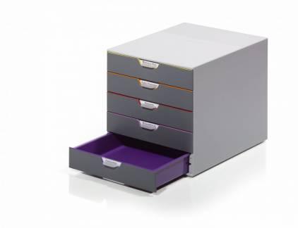 varicolor skuffekabinet med 5 skuffer til den bedste. Black Bedroom Furniture Sets. Home Design Ideas