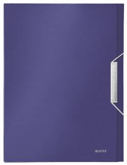 Leitz Style arkivæske 30mm med elastik blå