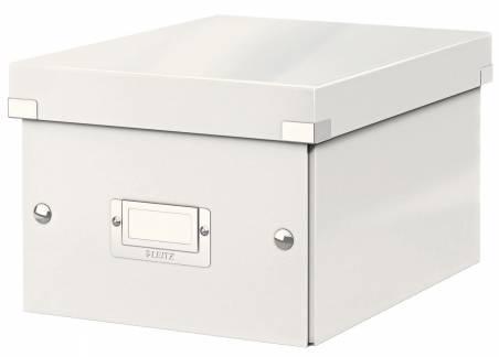 Leitz WOW arkivboks Click & Store A5 hvid