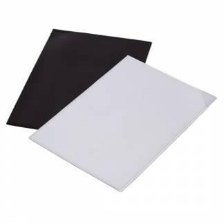Magnetlomme A5 hvid med trekantluk (Quickload)